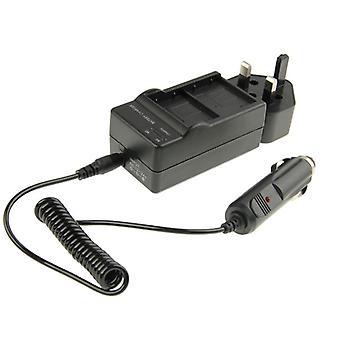 3 en 1 chargeur de voiture à double batterie pour GoPro HERO 3+ / 3 AHDBT-201 / AHDBT-301 (UK Plug)