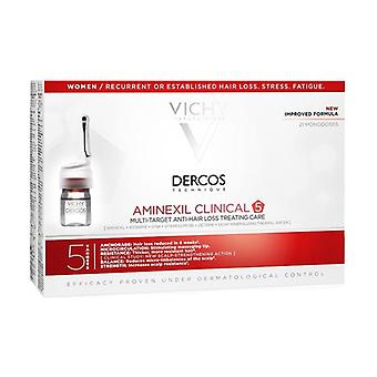 Dercos-Aminexil Intensive 5 - Woman Temporary Anti-Hair Loss Treatment for More Resistant Hair None
