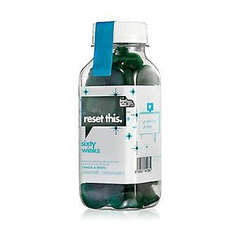 Sixty Winks Sleeping Gummies with Melatonin 60 chewable cubes