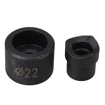 Handmatige Knock-out onderdelen hydraulische leiding Punch Die Mold 22mm diameter