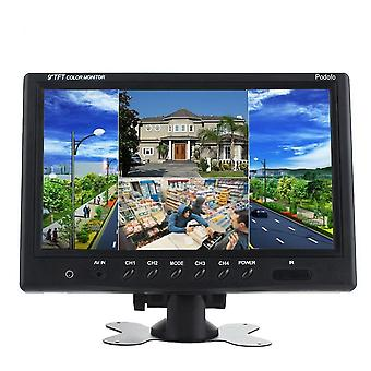 Tft Lcd Split Screen Quad, Cctv Security Surveillance Car Headrest Rear View