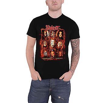 Slipknot T Shirt  Rusty Face band logo Official Mens Black