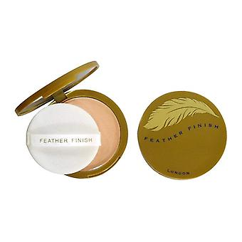 Mayfair Feather Finish Compact Powder with Mirror 10g - 01 Fair & Natural