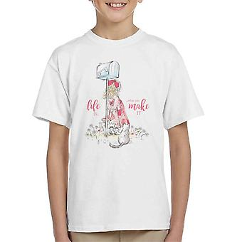 Holly Hobbie Life er, hvad du gør det Kid' s T-shirt