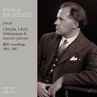 Albeniz / Backhaus - Hmv Recordings 1925-1937 [CD] USA import