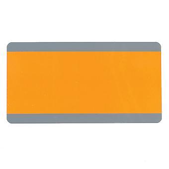 """Grande guida alla lettura, 3.75"""" X 7.25"""", Arancione"""
