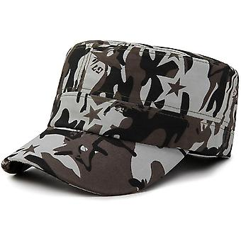 Adjustable Baseball Cap, Tactical Summer Sunscreen Hat, Camouflage Military,