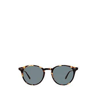 Garrett Leight CLUNE SUN ochelari de soare unisex de broască țestoasă întunecată