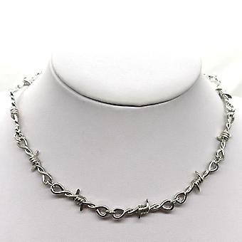 Wire Brambles Iron Unisex, Choker Necklace, Women Hip-hop Gothic Punk Style,
