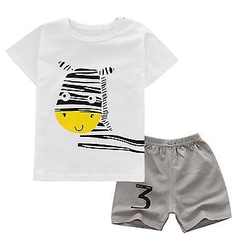 スマイルTシャツとショーツセット
