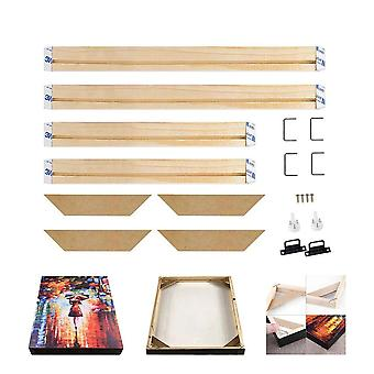 Pine Wood  Canvas Frame, Bar Oil Painting Stretcher Strip Kit