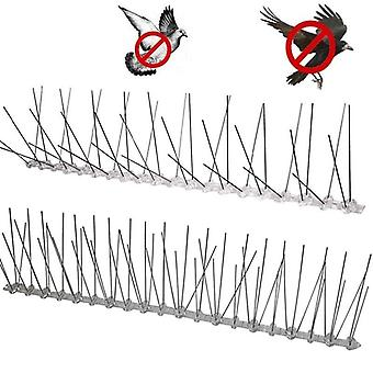 Plastic Repeller Bird Spikes Deterrent Stainless Steel Spike Strip