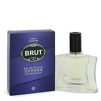 Brut Oceans Eau De Toilette Spray By Faberge 3.4 oz Eau De Toilette Spray