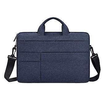 Anki Carrying Case with Strap for Macbook Air Pro - 14 inch - Laptop Sleeve Case Cover Blue