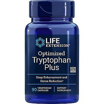 Life Extension optimoitu tryptofaani Plus 90 kasvis kapselia