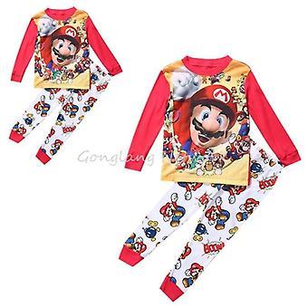 Super Mario Baby Kids Sleepwear, Nightwear, Pajamas Sets