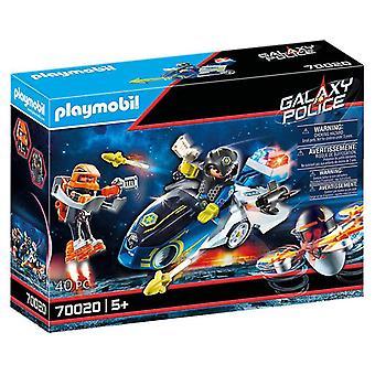Playmobil Galaxy Police Bike