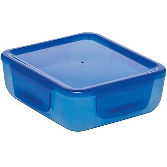 bread box On The Go700 ml blue 2-piece