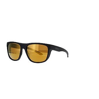 Smith Barra 003/QE Matte Black/Brown Mirror Sunglasses