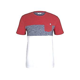 Tom Tailor 1021256 Pocket T-Shirt, 15220-Powerful Red, S Men's