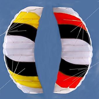 Dual Line Parafoil Zmeu cu instrumente de zbor, Power Braid Sailing Kitesurf, Sport