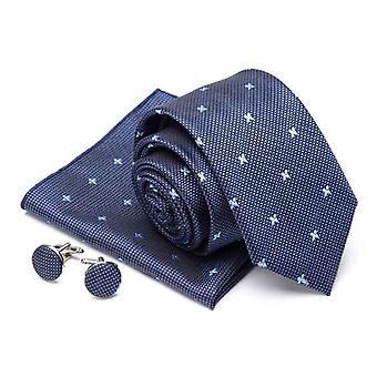 Miehet Solmio Cravat Cufflinks Set
