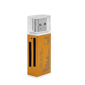 4 az 1-ben memóriakártya-olvasó memóriakártyához, Micro Sd/t-flash adapterhez