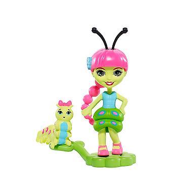 Enchantimals Petal Park Cay Caterpillar &Scriggly Figures