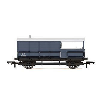 הורנבי GWR AA15 20t 'קרפדה' סחורות בלם ואן 56705 עידן 3 דגם רכבת