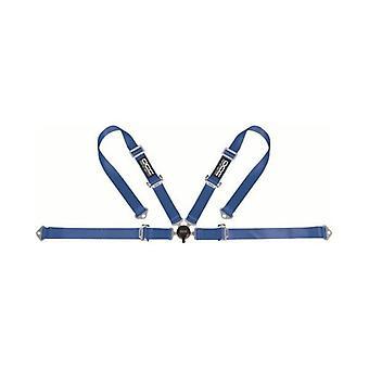 Gurtzeug mit 4 Befestigungspunkten Racing Blue