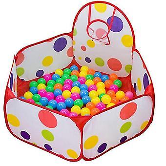 جديد gr0019bmacaron الاطفال playpen طفل الكرة حفرة المحمولة حمام سباحة الطفل لعب خيمة كرة السلة طوق sm16588
