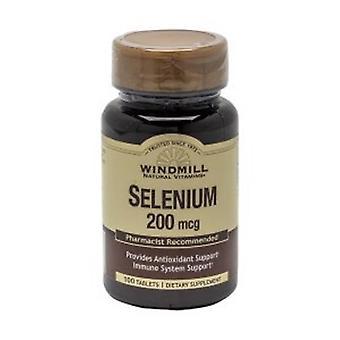 Windmill Health Selenium, 200 mcg, 100 Count