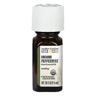 Aura Cacia Essential Oil, Peppermint 0.25 oz