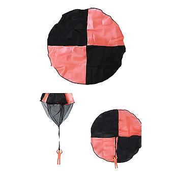 3pcs Parachute Toy Children's Flying Toys For Kids Gifts(Orange)