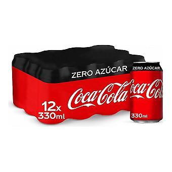 Virkistävä juoma Coca-Cola Zero (12 x 33 cl)