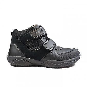 Superfit Storm 009389 Black Velour/Leather/Textile Boys Gore-Tex® Ankle Boots