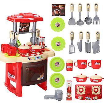 Çocuklar için Aksesuar Seti ile Mini Mutfak