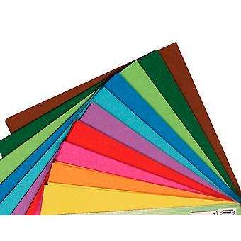 100 feuilles de papier origami carré - 10cm