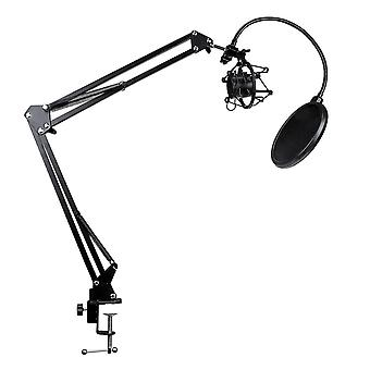 Table stand for Microphone with Swing arm