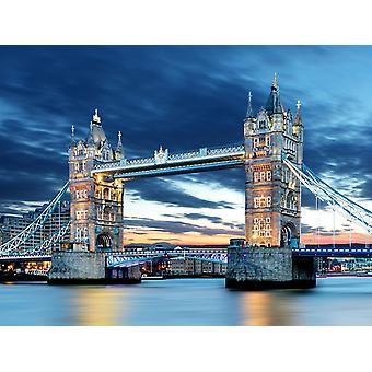 Tapeta Mural Tower Bridge w Londynie