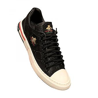 New Small White Shoes Small Bee Men's Shoes Embroidered Fashion Board Shoes Trend Leather Casual Shoes