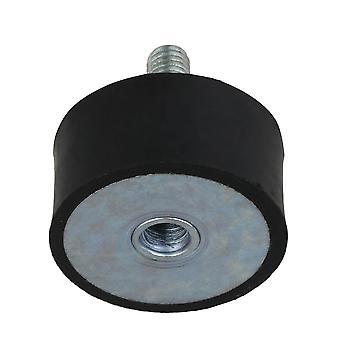Mutterit pultit musta kumi iskunvaimennin m8 värähtelynesto isolaattori kiinnittyy 40x20mm