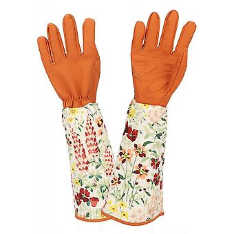 Rose Pruning Gloves Women Men, Thorn Proof Gardening Gloves With Long Cuff Forearm Protection For Garden