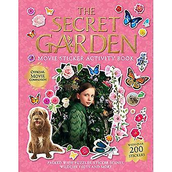Salainen puutarha: Elokuvatarra-aktiviteettikirja