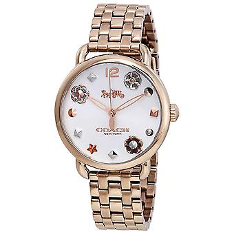 Coach Delancey Cadran Or Rose Or-tone Ladies Watch 14502811