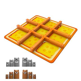 Tile games cheese board game portable fun educational family gathering game strategy board game|strategy games
