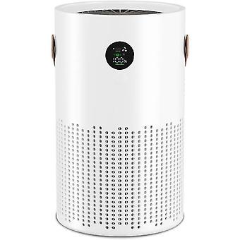 bærbar luftrenser for hjemmet, hepa luftrenserfilter fjerner skadelige stoffer, lukt, pollen, kjæledyr dander