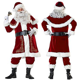 Men's Christmas Costumes, Hats, Belts, Beards, Cosplay, Funny Christmas Masks, Adult Costumes