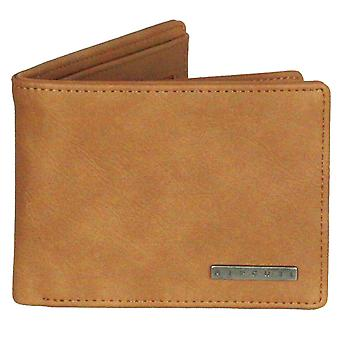 Rip Curl Wallet with CC, note and Coin ~ Rockered tan