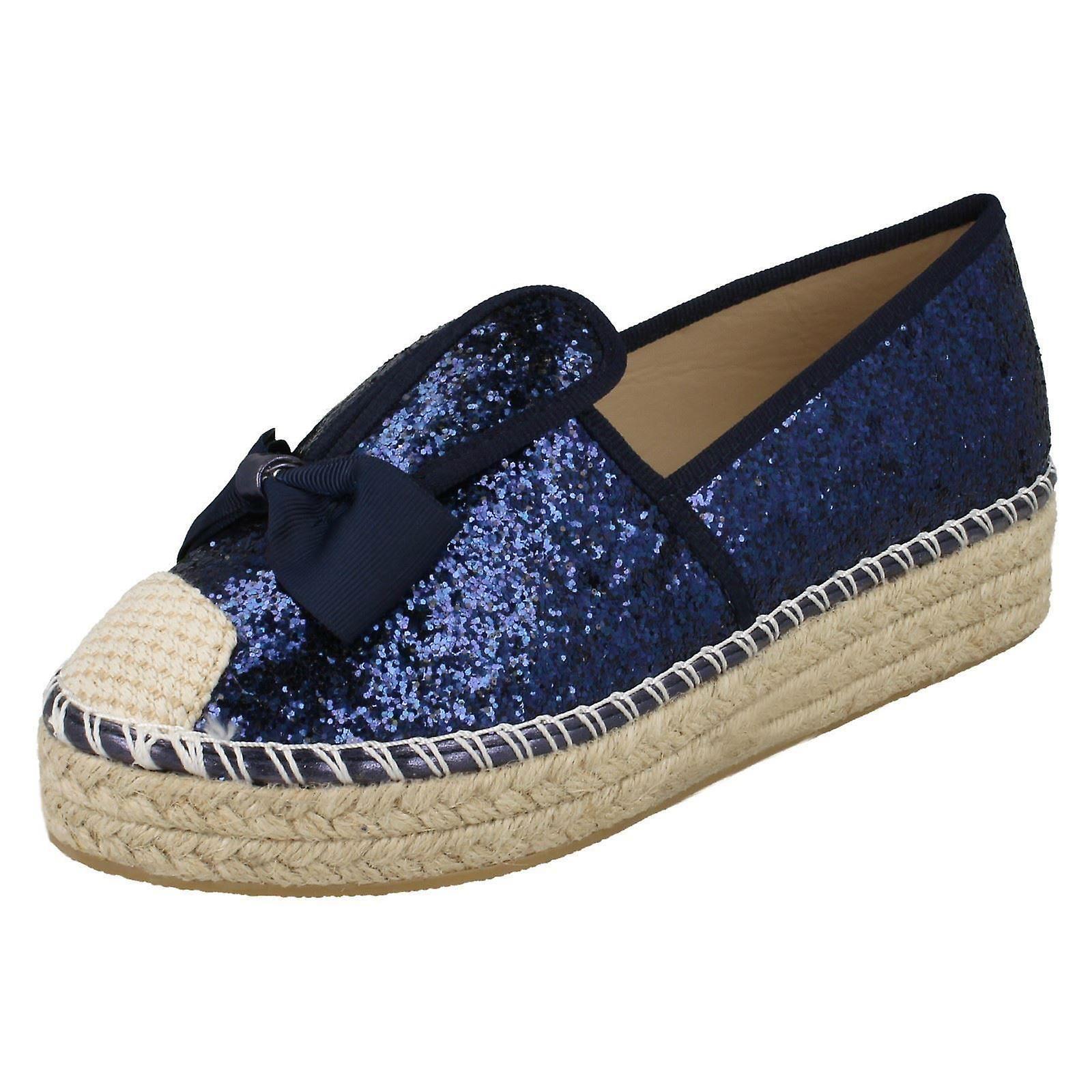 Ladies Canvas Espadrilles Shoes Summer Flat Pumps Plimsoles Sandals UK Sizes 3-8